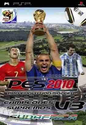 Descargar Pro Evolution Soccer 2010 Parche Campeones supremos V3 + SAVEDATA [Spanish] por Torrent